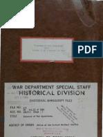 WWII Prisoner of War Operations