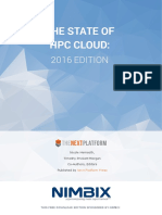 The State of HPC Cloud 2016 Edition Downloadable Version