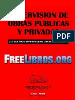 Supervisión de Obras Públicas y Privadas
