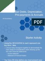 Bad Debts and Depreciation 1iu9oky