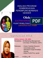 Pemberdayaan Perempuan Berbasis Gender