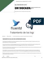 Tratamiento de Los Logs Con Contenedores Docker - Don Docker