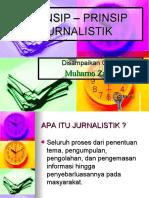 PRINSIP – PRINSIP JURNALISTIK