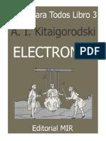 Fisica Para Todos III - Electrones a I