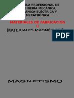 Materiales Magneticos (Practica) 2016