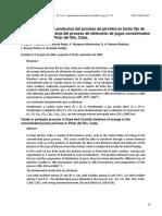 Aguiar, Garcia, Montesino - Rendimiento de Los Productos Del Proceso de Pirolisis en Lecho Fijo de Residuos de Naranja