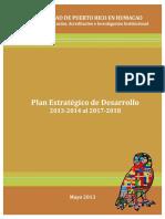 Plan Estrategico de Desarrollo UPRH 2013-2014 al 2017-2018