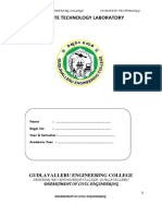 Concrete Technology Lab Manual