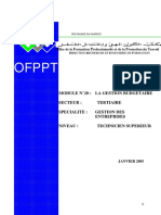 Module 20 - TSGE - Gestion Budgétaire - OfPPT