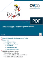 FSCM-01 Credit Management