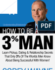 How To Be A 3% Man Free download PDF and Read online