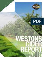 Westons Cider Report 2016