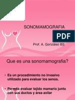presentacion de sonomamografia