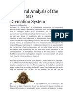 Structural Analysis of the Tibetan MO Divination (2)