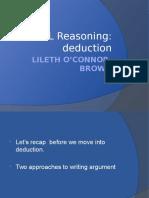 2016 Lecture 8 Deduction