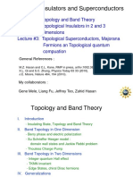 Topological Insulators and Superconductors Lecture PDF