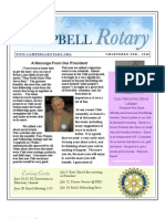 Rotary Newsletter Jun 22 2010