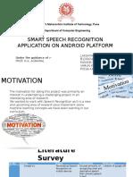 Smart Speech Recognition