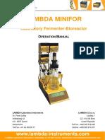 bioreactor+fermentor-LAMBDA-MINIFOR-manual