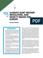 Russias Quiet Military Revolution