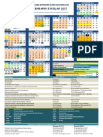 UABCS Calendario 2017