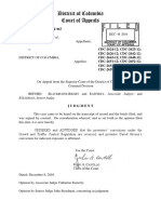 D.C. Court of Appeals Occubarn Ruling