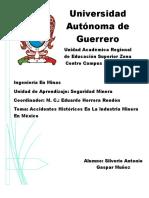 Principales Accidentes Laborales en México