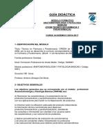 Guia Didactica Anatomofisiología y patología básica