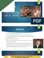Historia de La Psicología en El Perú