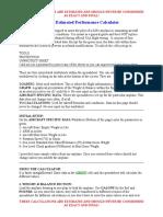 KIS4 Estimated Performance Calculator Instructions