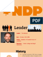 federal political party poster
