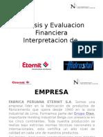 Eternit - Analisis de Estados Financieros