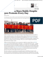 20120105 How China Stays Stable Despite 500 Protests Every Day; The Atlantic