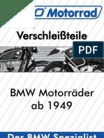 WÜDO Verschleissteilekatalog für BMW Motorräder
