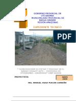 1. Expediente Tecnico Barrio Visalot Alto