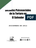 """""""Torture in El Salvador,"""" Human Rights Commission of El Salvador (CDHES), September 29, 1986"""