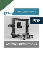 Prusa i3 Rework Rev1.0 - Assembly Instructions