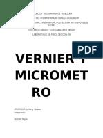Vernier y Tornillo
