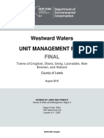 Westward Waters Unit Management Plan