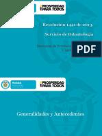 Servicio de Odontología - Ministerio de Salud - Resolución 1441 de 2013