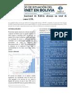 Reporte del Estado de Situación del Internet en Bolivia
