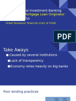 unethical investment banking policies presentation