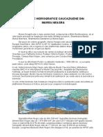 Bazinele Hidrografice Caucaziene Din Marea Neagra