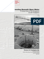 Tunneling Beneath Open Water a Practical Guide for Risk Management