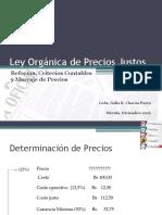 Lopj, Reforma y Criterios Contables