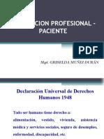 5 Relacion Profesional Paciente