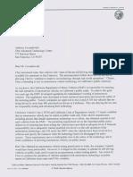 CA DMV letter to Uber ATG's Anthony Levandowski