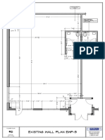 1Existing Wall Plan