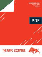 December 2016 WUFC Newsletter