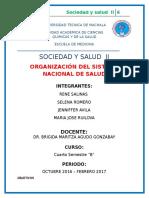 2. Organizacion Del Sistema Nacional de Salud